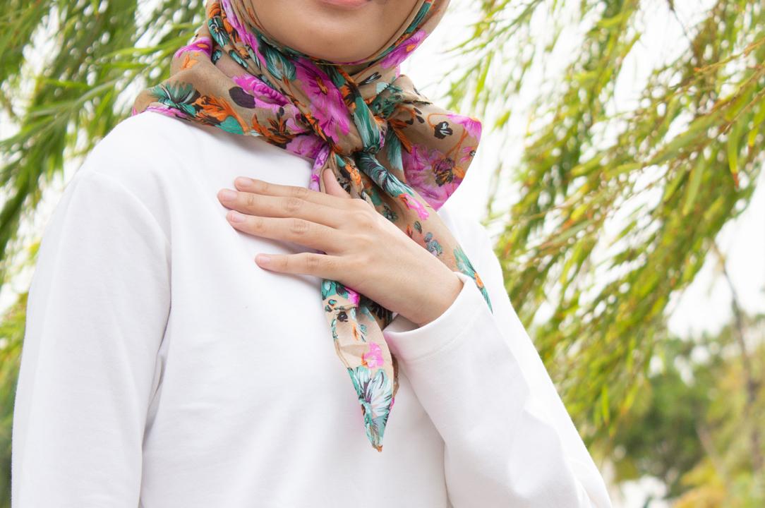 gaya hijaber bertubuh pendek